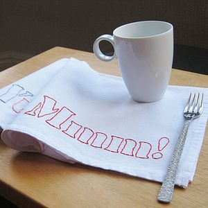 Mmm! Cotton Napkin - bed, bath & table linen