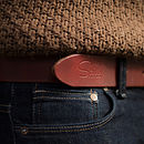 Handmade Leather Worker Belt