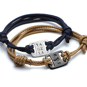 Men's Mini Id Plate Bracelet