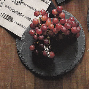 Two Tier Solid Slate Cake Stand - cake stands