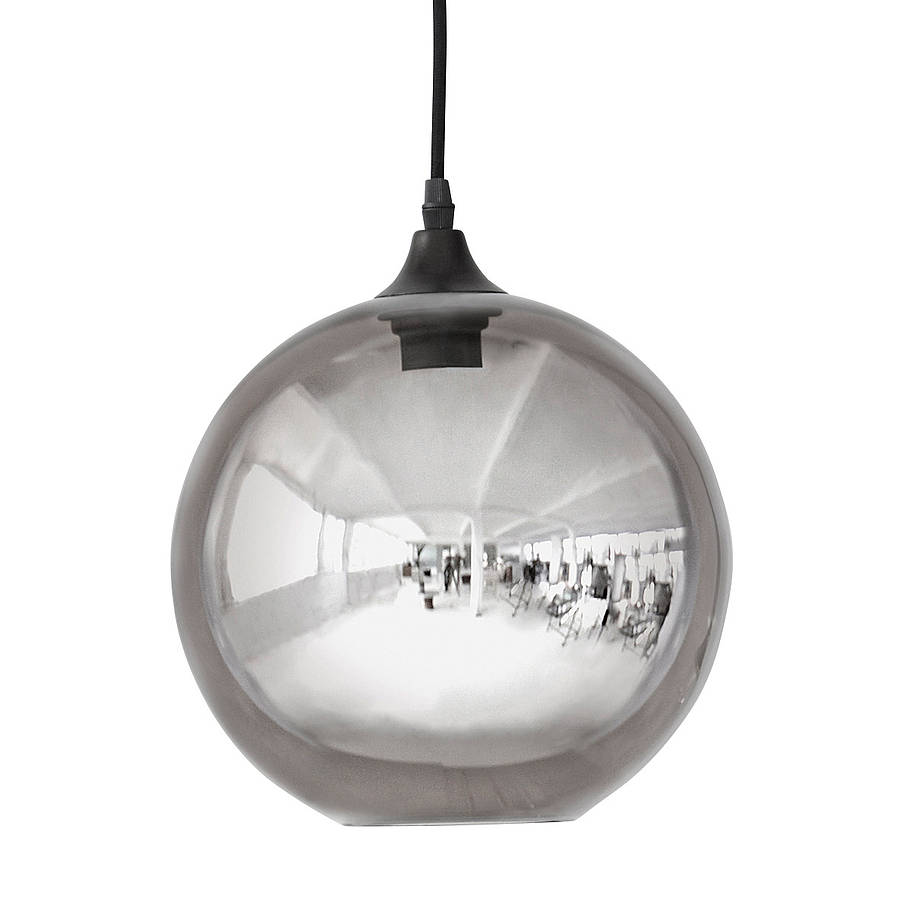 ellipse or circle pendant light by idyll home