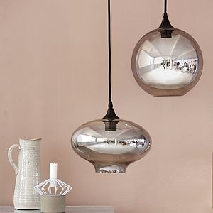 Ellipse Or Circle Pendant Light - office & study