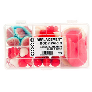 Replacement Body Parts Box Of Sweets - chocolates & confectionery