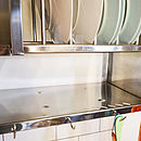 Mighty Stainless Steel Plate Rack