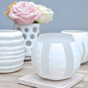 Cameo Vase Or Tea Light Holder - candles & home fragrance