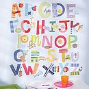 Bright Alphabet Wall Stickers