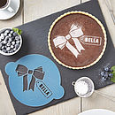 Personalised Gift Tag Cake Stencil