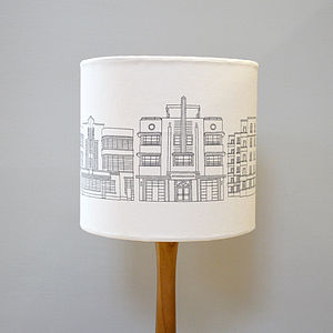 Deco Building Lampshade - lighting