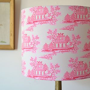 Handmade China Lampshade - living room