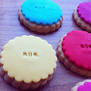 Ten Mothers Day Colourful Cookies   10% Off - view all mother's day gifts