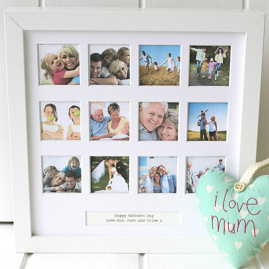 personalised special occasions photo frame - Mother Picture Frame