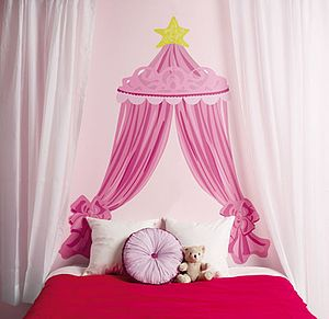 A Princess Headboard Wall Sticker