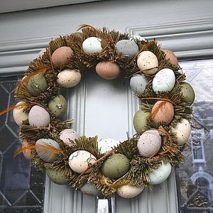 Egg Door Wreath
