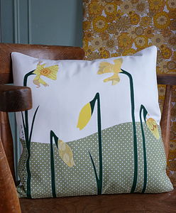 Daffodil Cushion - cushions
