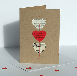 Personalised Love Heart Card - cards & wrap