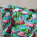 Flamingo Cushion Cover