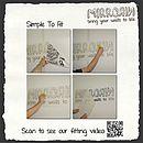Bathroom Ducks Vinyl Wall Sticker