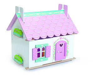 Dolls House, Furniture And Doll Family Playset