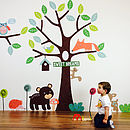 Children's Forest Friends Wall Stickers