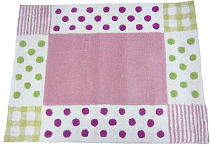 Baby Girl Rug - bedspreads& quilts