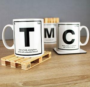 Personalised Periodic Mug