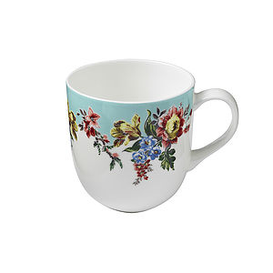 Amelia Round Sided Mug - mugs