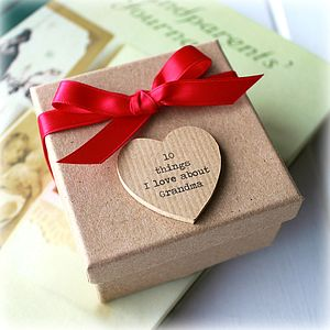 10 Things I Love About Grandma Box - gifts for grandmothers