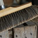 Horse Hair Broom Head