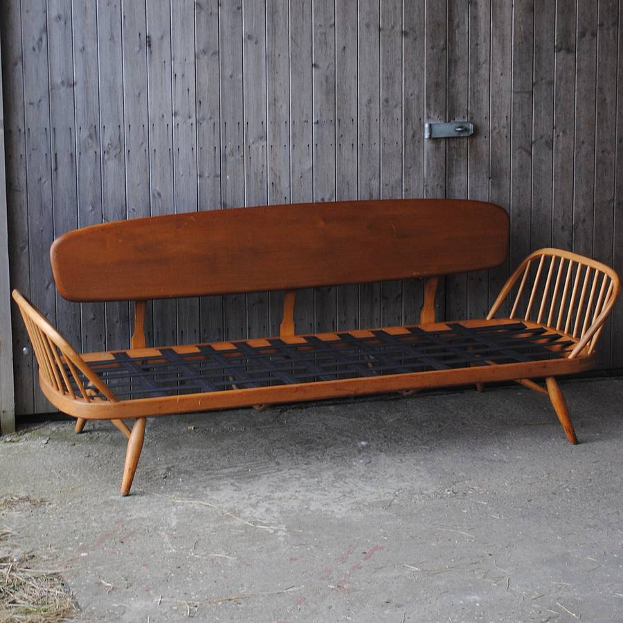 Vintage ercol studio couch sofa bed by iamia Bed couches for sale