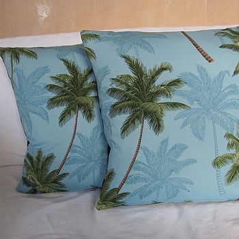 Palm Trees Cushion Cover