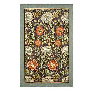 Carnation Linen Tea Towel