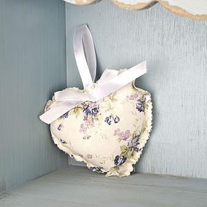 Blue Roses Lavendar Heart - home accessories