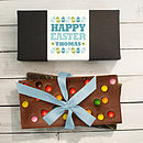 Personalised Easter Chocolate Bars Gift Set