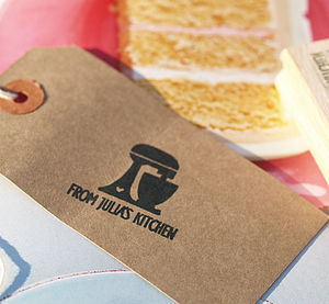 Cake Mix Personalised Kitchen Stamp - stamps & ink pads