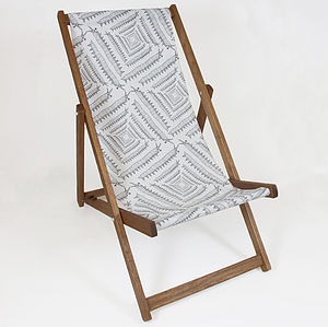Ony Square Deckchair - garden furniture