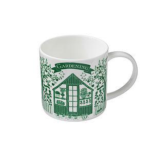 Gardening Straight Sided Mug