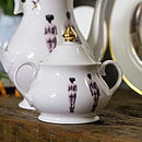 Models Bone China Sugar Bowl