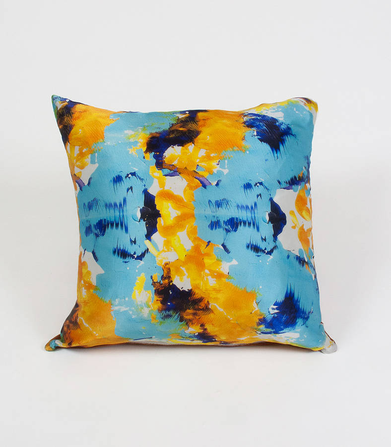 Ink Trench Cushion