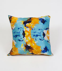 Ink Trench Cushion - patterned cushions