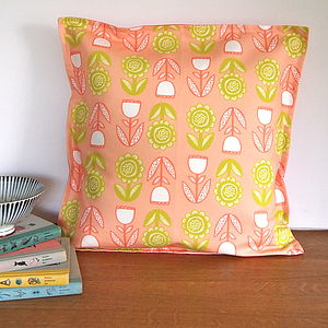 Lollipop Flower Cushion Cover - patterned cushions
