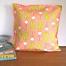 Lollipop Flower Cushion Cover