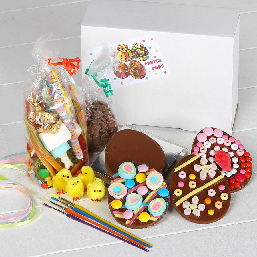 Easter eggs decoration kit by chocolate by cocoapod chocolate easter eggs decoration kit solutioingenieria Gallery