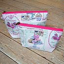 Patisserie Cake Baking Makeup Wash Bag