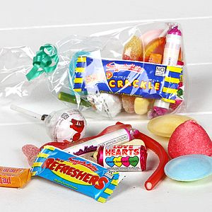 Party Sweetie Bag - wedding favours