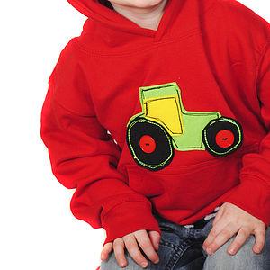 Children's Tractor Hoodie