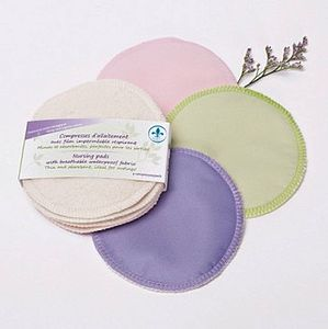 Pack Of Four Breathable Nursing Pads