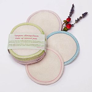 Pack Of Eight Makeup Removal Pads - bathroom