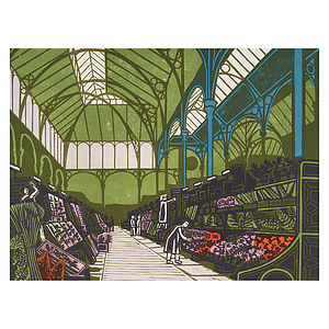 Covent Garden Market Print - architecture & buildings