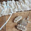 'Simply Daisy' Bridal Garter