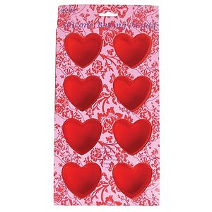 Heart Shaped Silicone Baking Mould